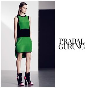 NWT Prabal Gurung $1695 Runway Silk Tunic Dress